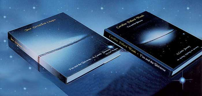 personalized, fine art astrology book covers